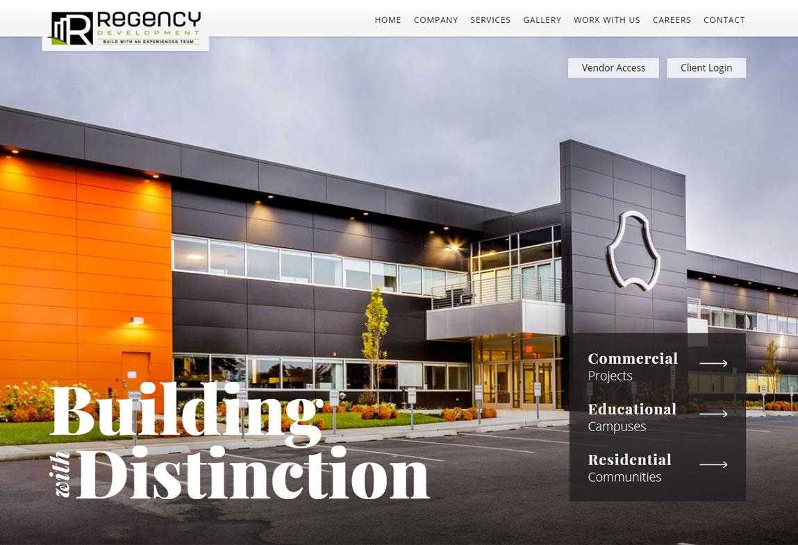 Regency Development Website